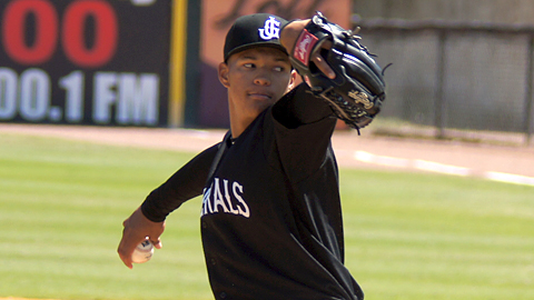 Taijuan Walker was the Mariners' Pitcher of the Year in 2011.